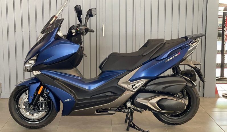 Kymco Xciting Moto Scooter lleno